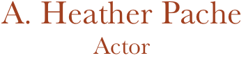 A. Heather Pache